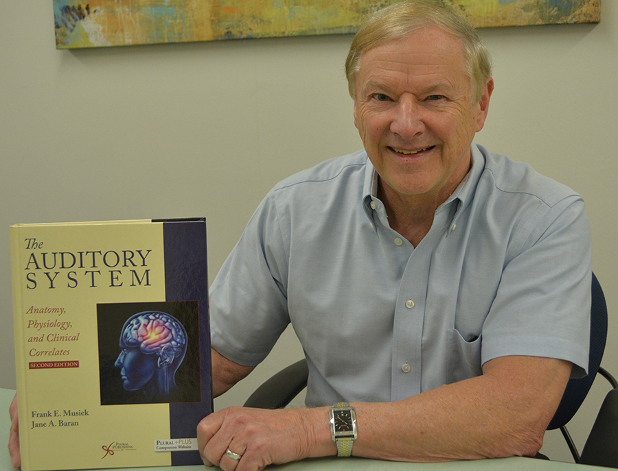 Professor Frank Musiek Publishes New Textbook on The Auditory System